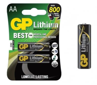 GP超霸 鋰電池